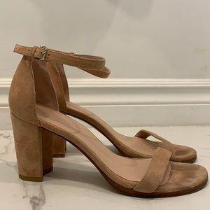 Stuart Weitzman Blush Pink Heels Size 7